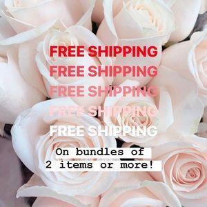 Bundle & save on Shipping!